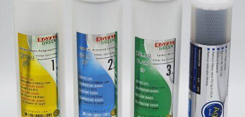 4 Lü İnline Ön Aşama Filtre Seti Royal Green marka