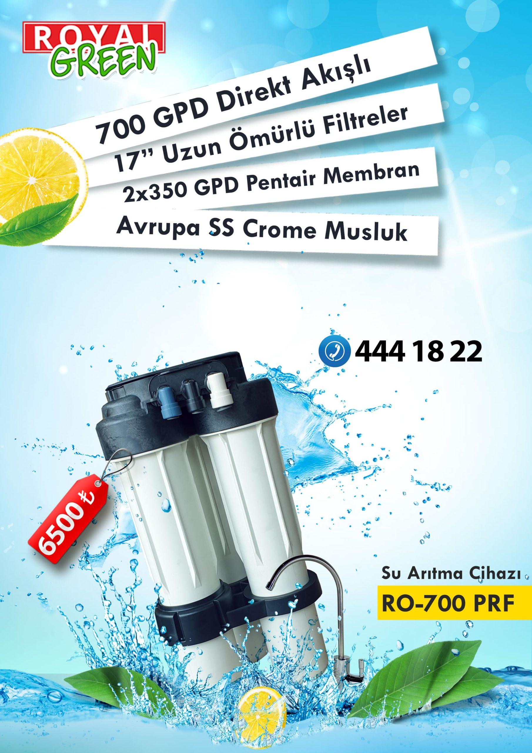 Pentair PRF-700 Arıtma