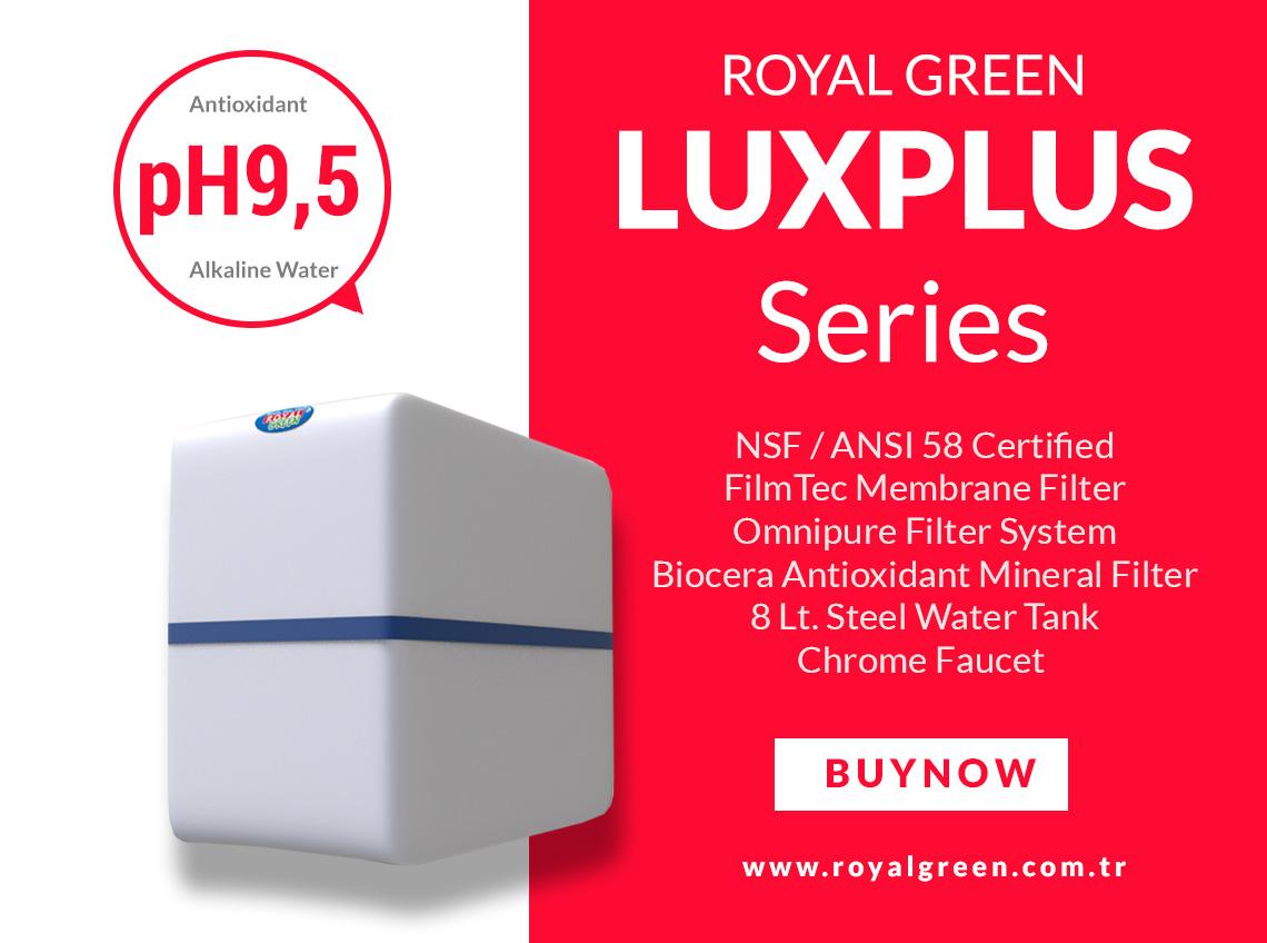 lUX pLUS Water Purifier Banner